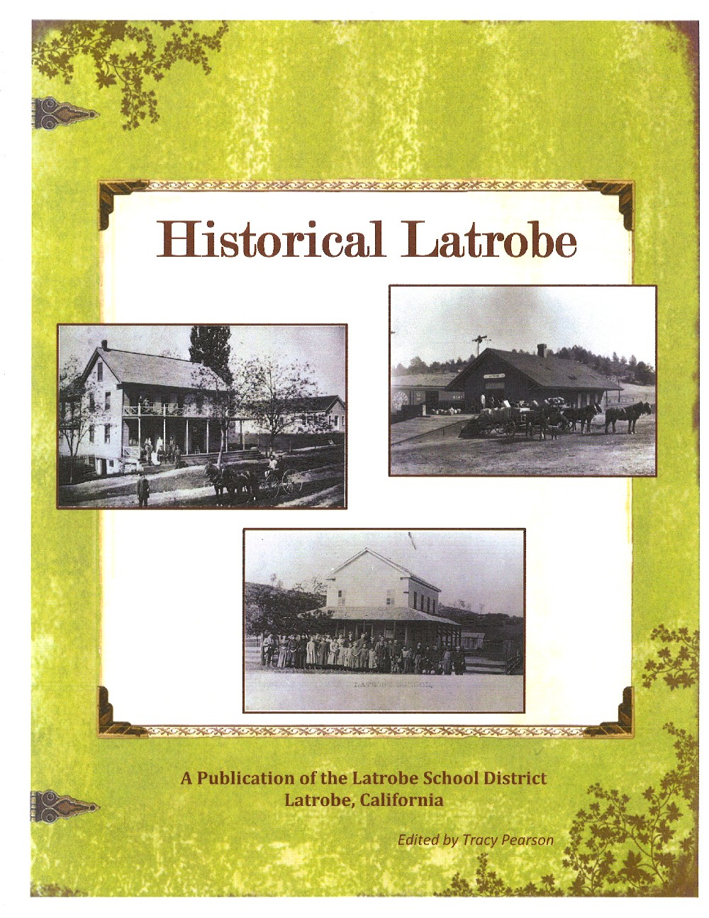 Historical Latrobe book front cover
